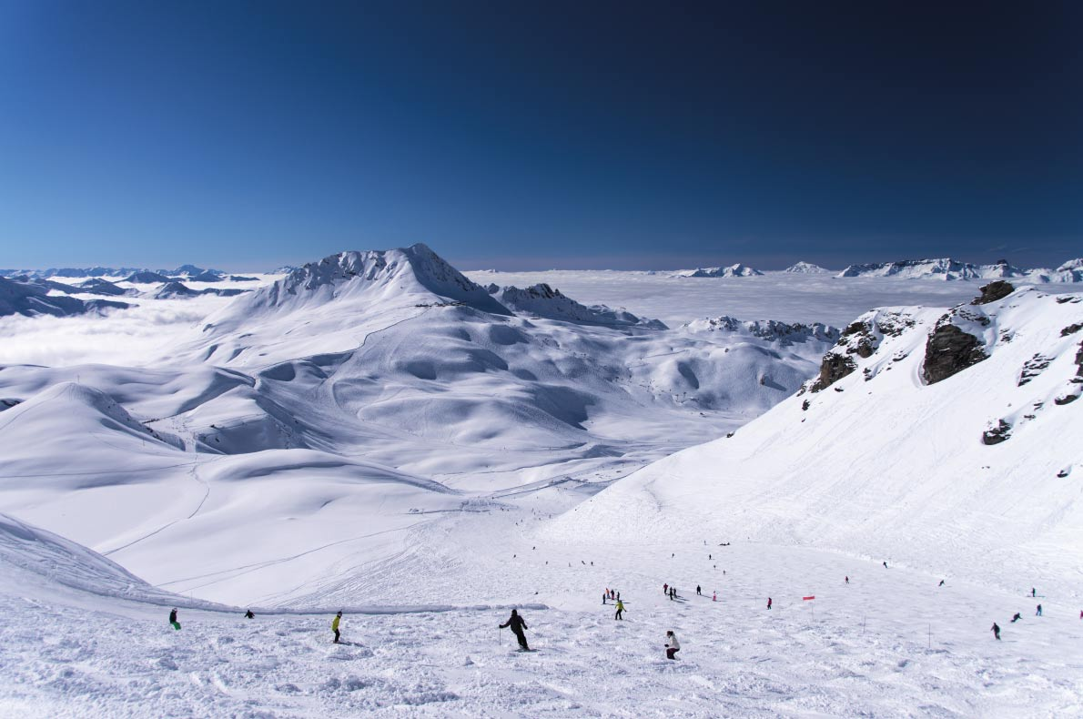 Best European Ski Resorts for Guaranteed Snow - Les Arcs - Copyright xdrew - European Best Destinations