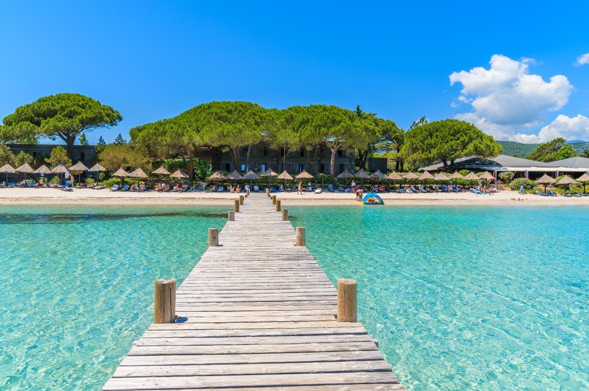 Best beaches in France - Santa Giulia Beach in Corsica Copyright  Pawel Kazmierczak - European Best Destinations