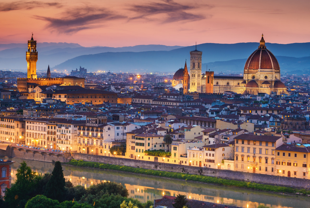 Florence - Kim Kardashian -  Best celebrities destinations in Europe - Copyright gillmar - European Best Destinations