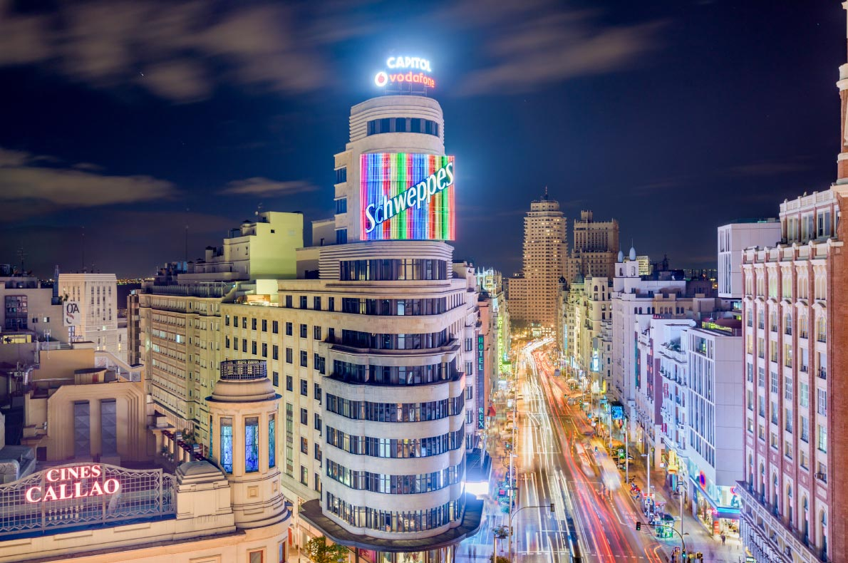 Best places to visit in Spain - Madrid copyright  Sean Pavone  - Copyright