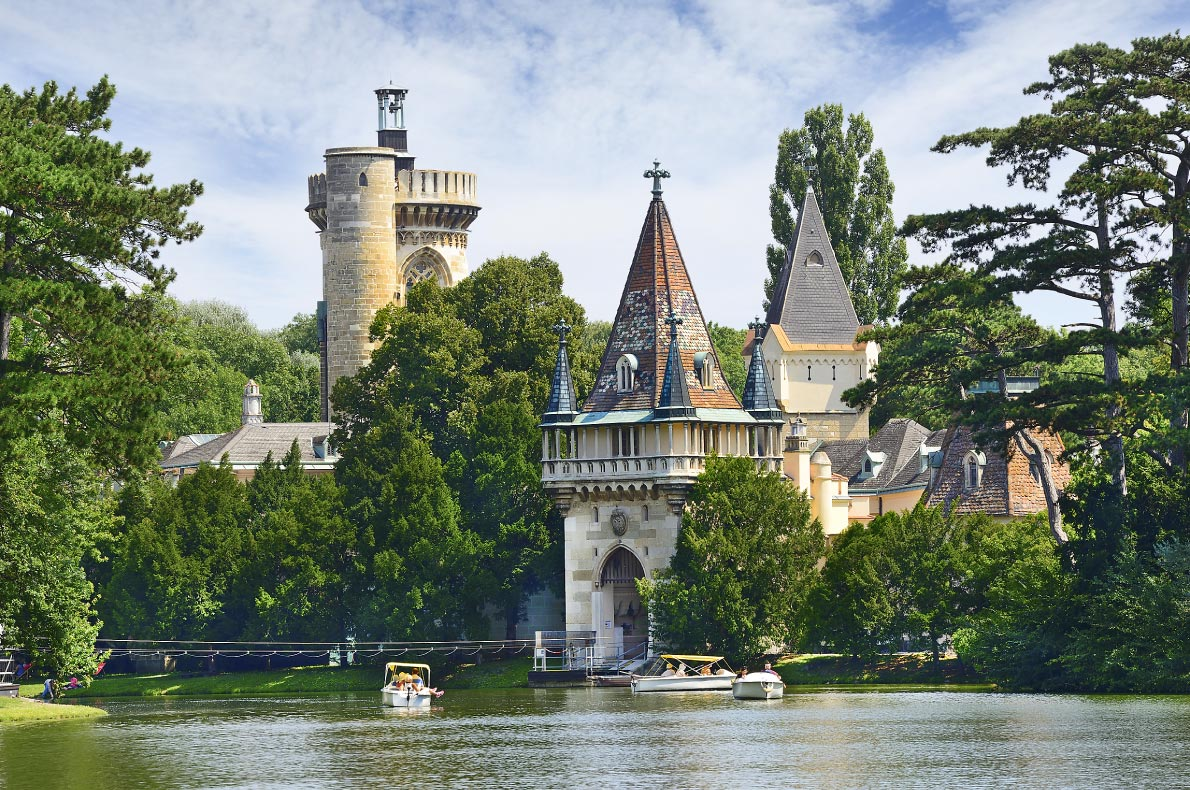 Best hidden gems in Austria - LAxenburg Water Castles - copyright Pecold - European Best Destinations