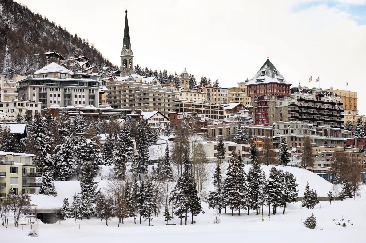 Luxurious Ski Resorts - St Moritz - Copyright Fulcanelli  - European Best Destinations