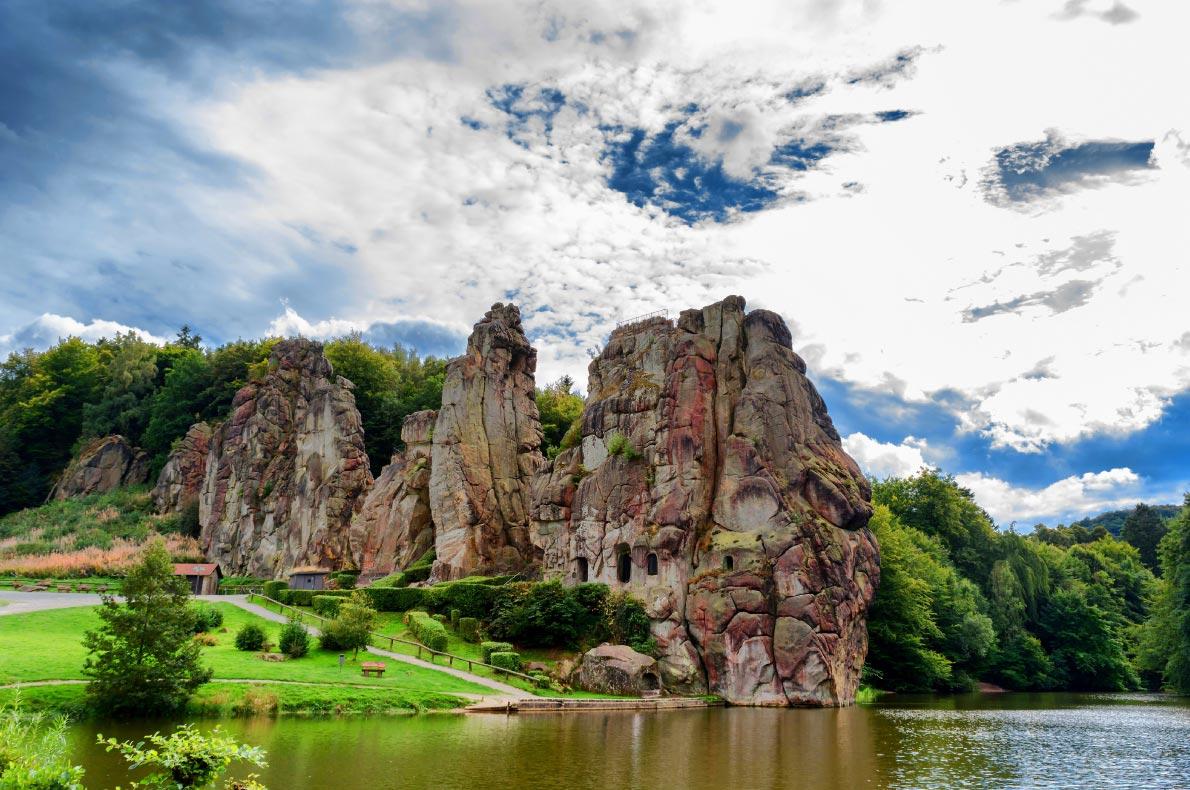 Best Natural wonders in Germany - The Externsteine  - Copyright  JFs Pic S. Thielemann - European Best Destinations