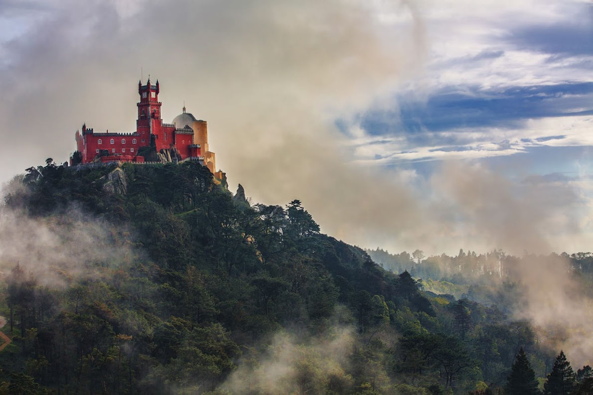 Sintra Pena Palace - Best Fairytales destinations in Europe - Copyright Rolf E. Staerk - European Best Destinations