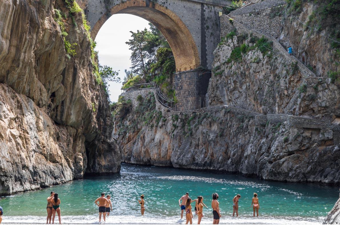 Best Natural wonders in Italy - Fjordo di Furrore Beach copyright  jackbolla  - European Best Destinations