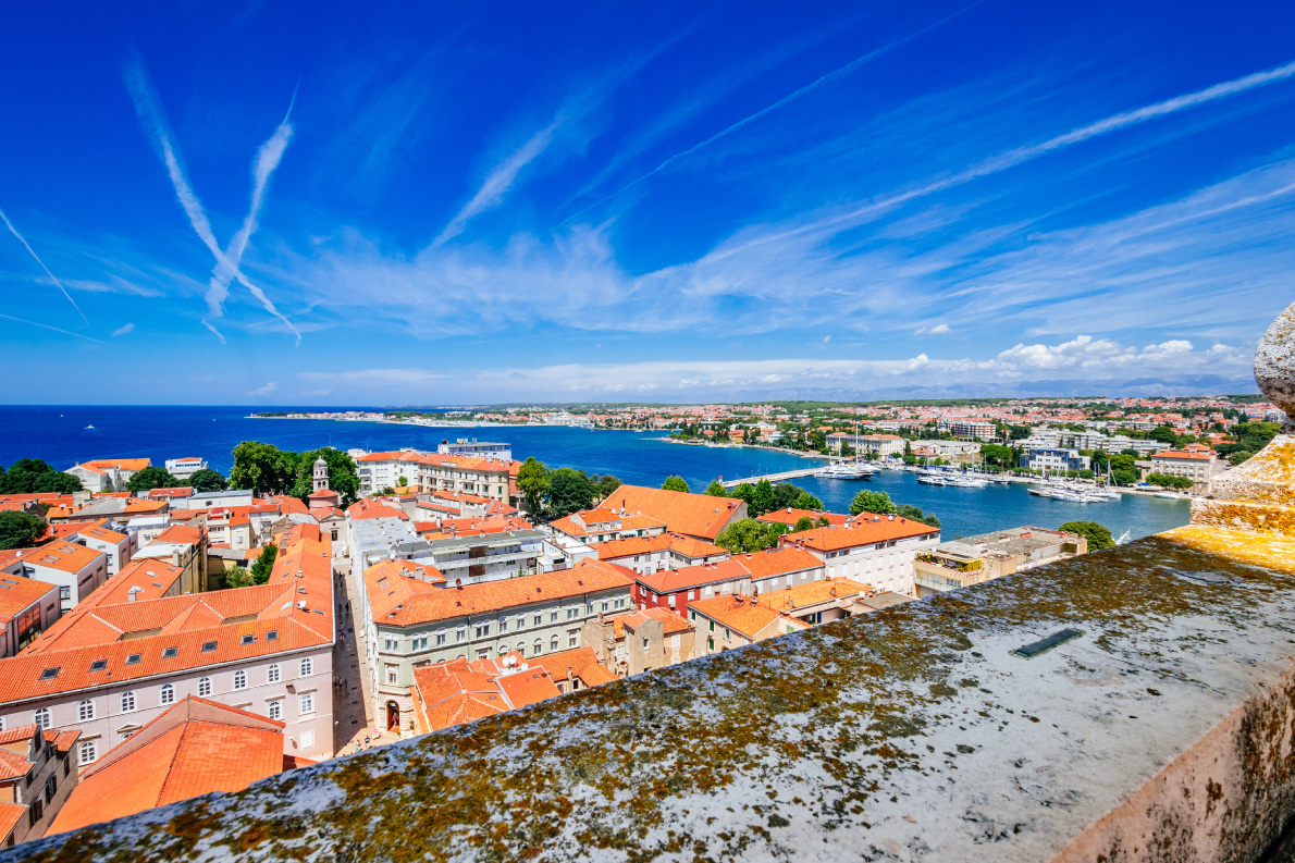 View-from-the-top-of-the-bell-tower-of-the-church-of-St.-Anastasia-Zadar-Copyright-nomadFra