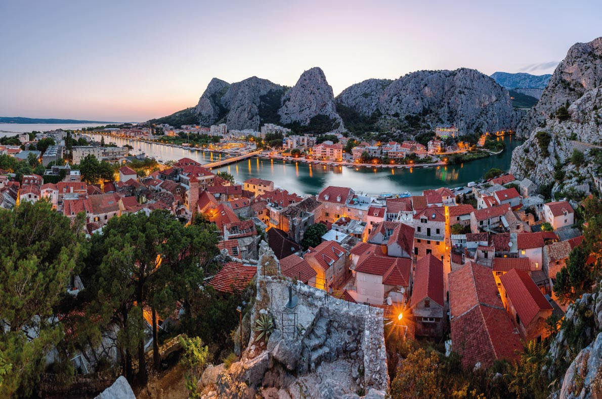 Omis  Paradisiacal destinations in Europe Copyright anshar