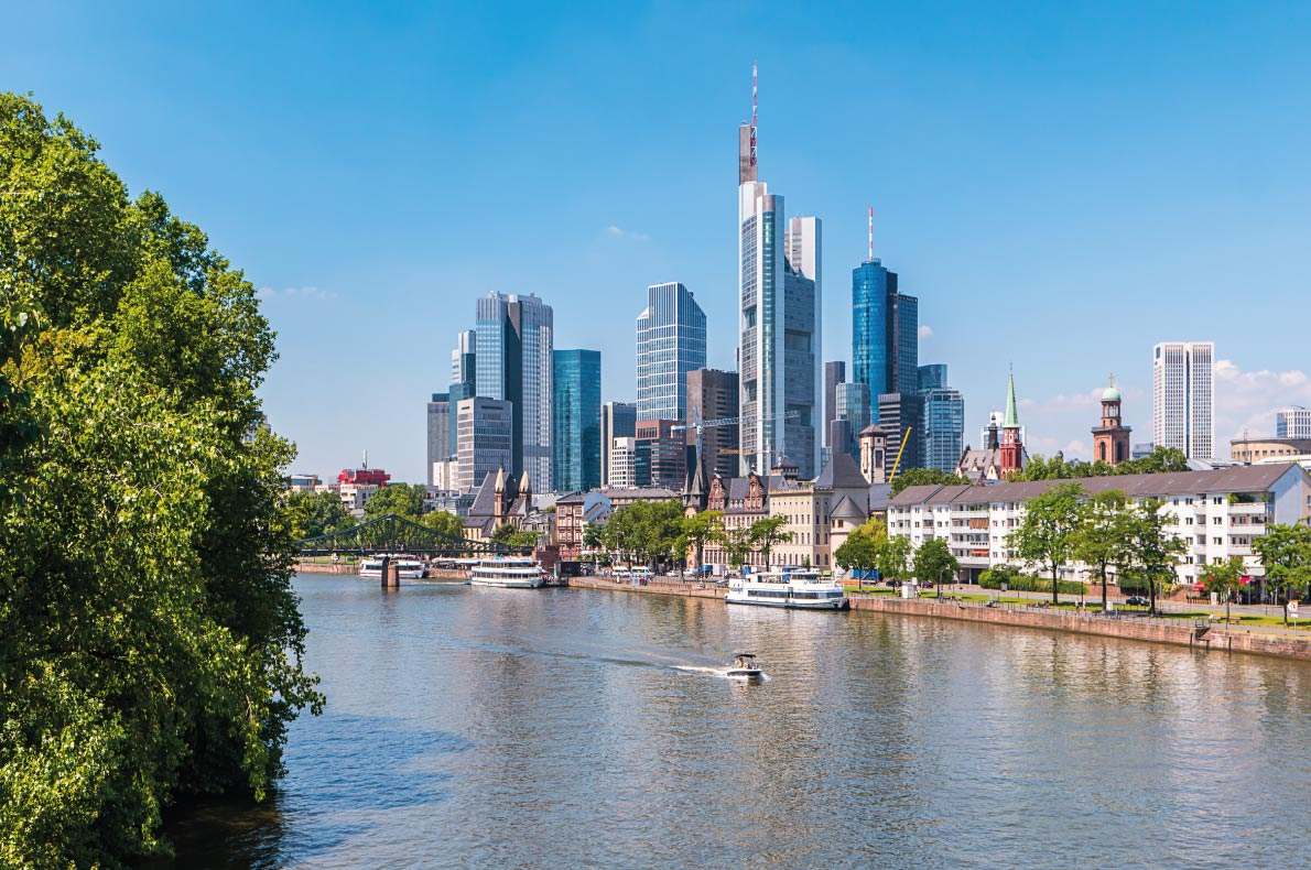Quietest destinations in Europe -  Frankfurt am Main copyright R.classen