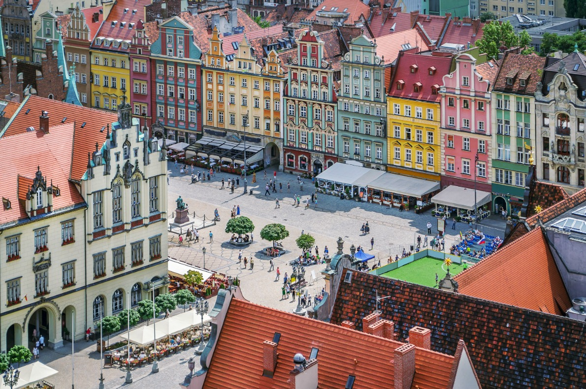Wroclaw Poland Copyright Shutterstock - European Best Destinations
