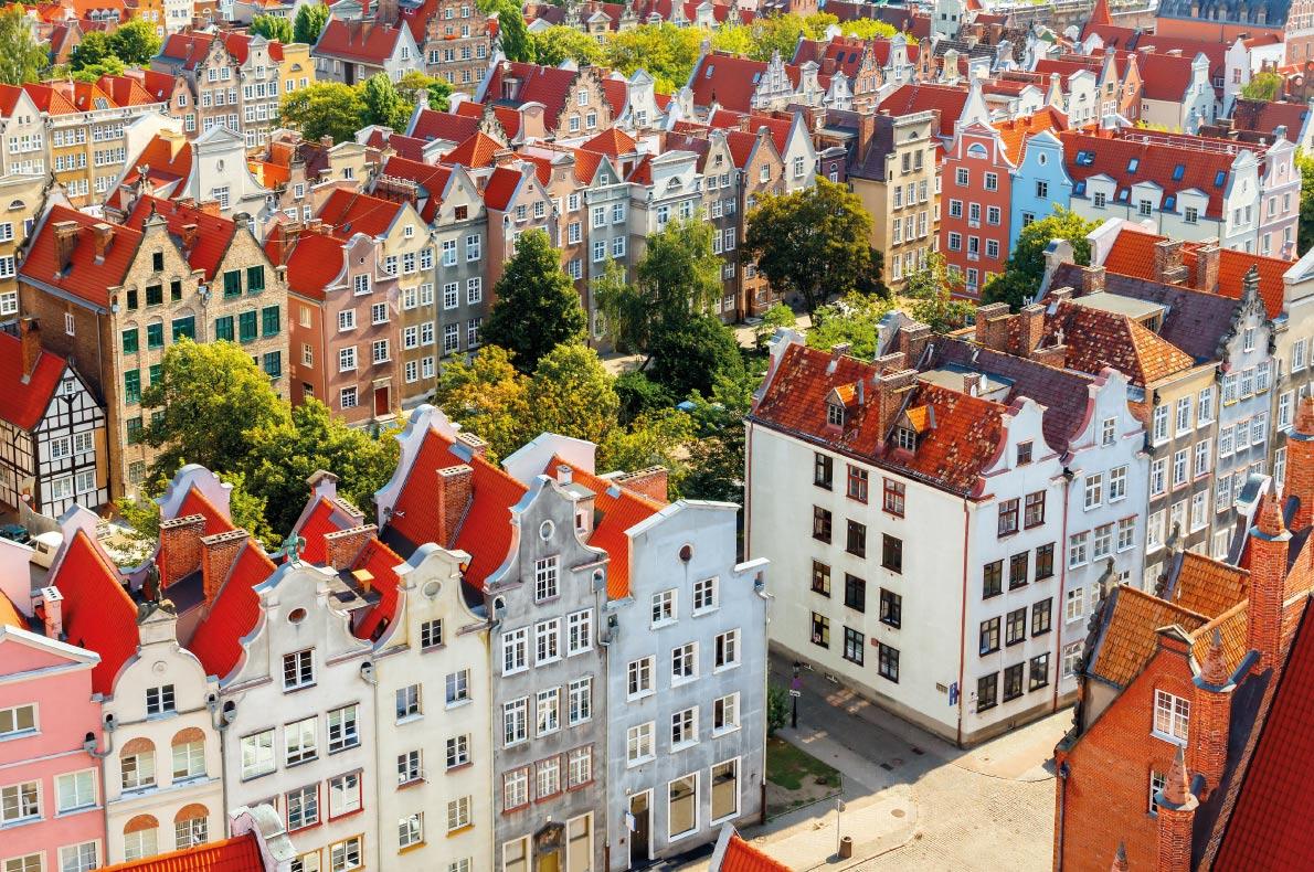 Gdansk - Best Destinations for fall Autumn in Europe - Copyright kavalenkau - European Best Destinations