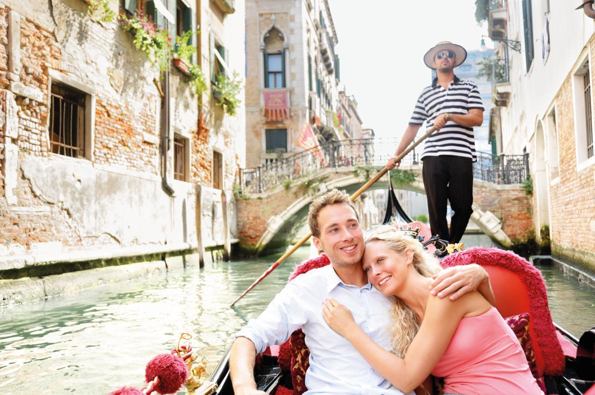 Venice in a gondole  - Best destinations for a wedding proposal - Copyright  Maridav - European Best Destinations