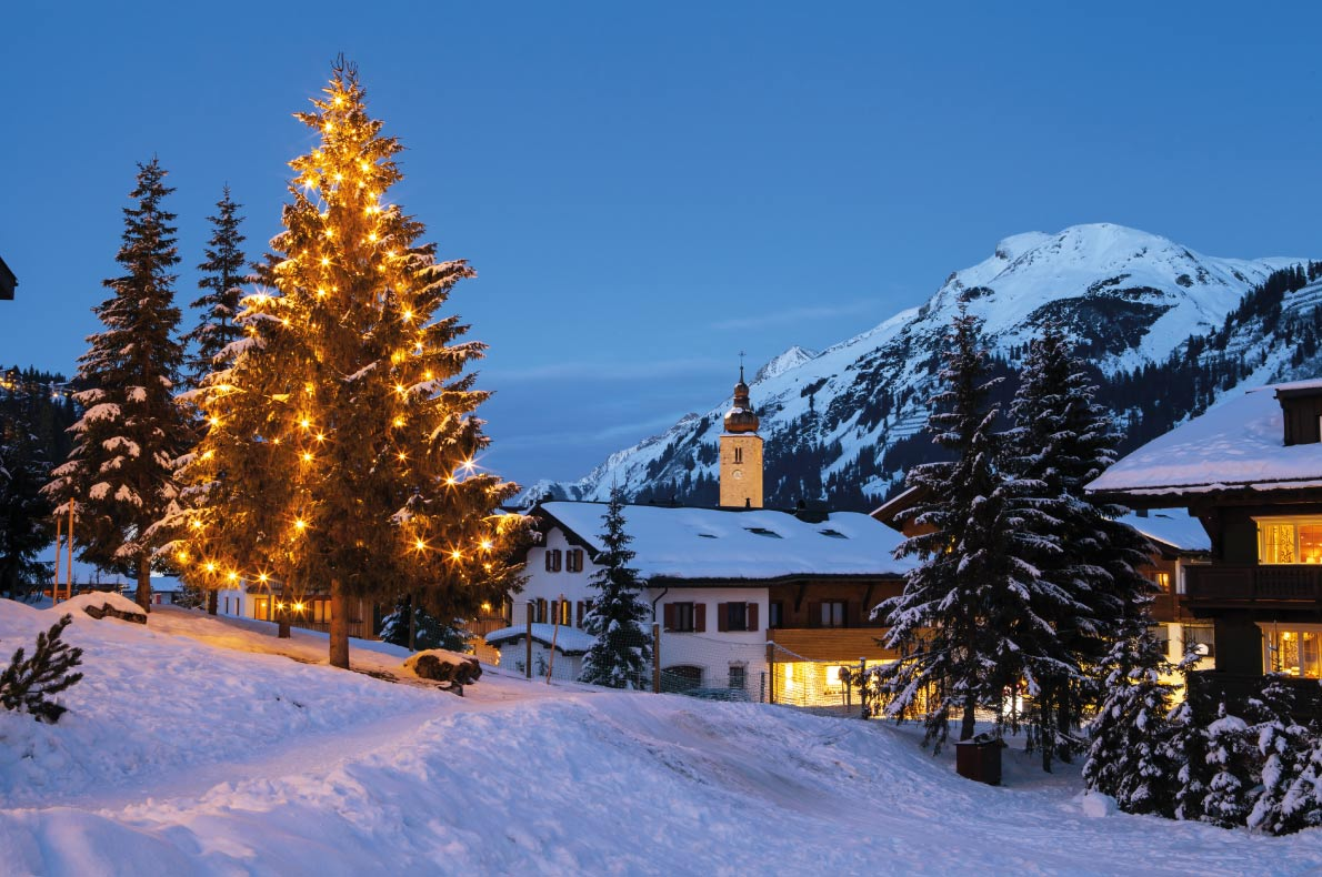 Best European Ski Resorts for Guaranteed Snow - Lech in Austria - Copyright Magdanatka  - European Best Destinations