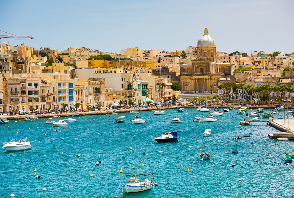 Malta - Best places to get retired in Europe - Copyright In Green - European Best Destinations
