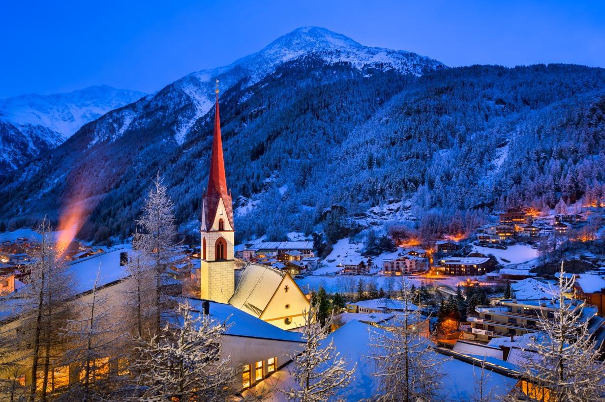 Best Ski resorts in Austria - Soelden - Copyright ansharphoto- European Best Destinations