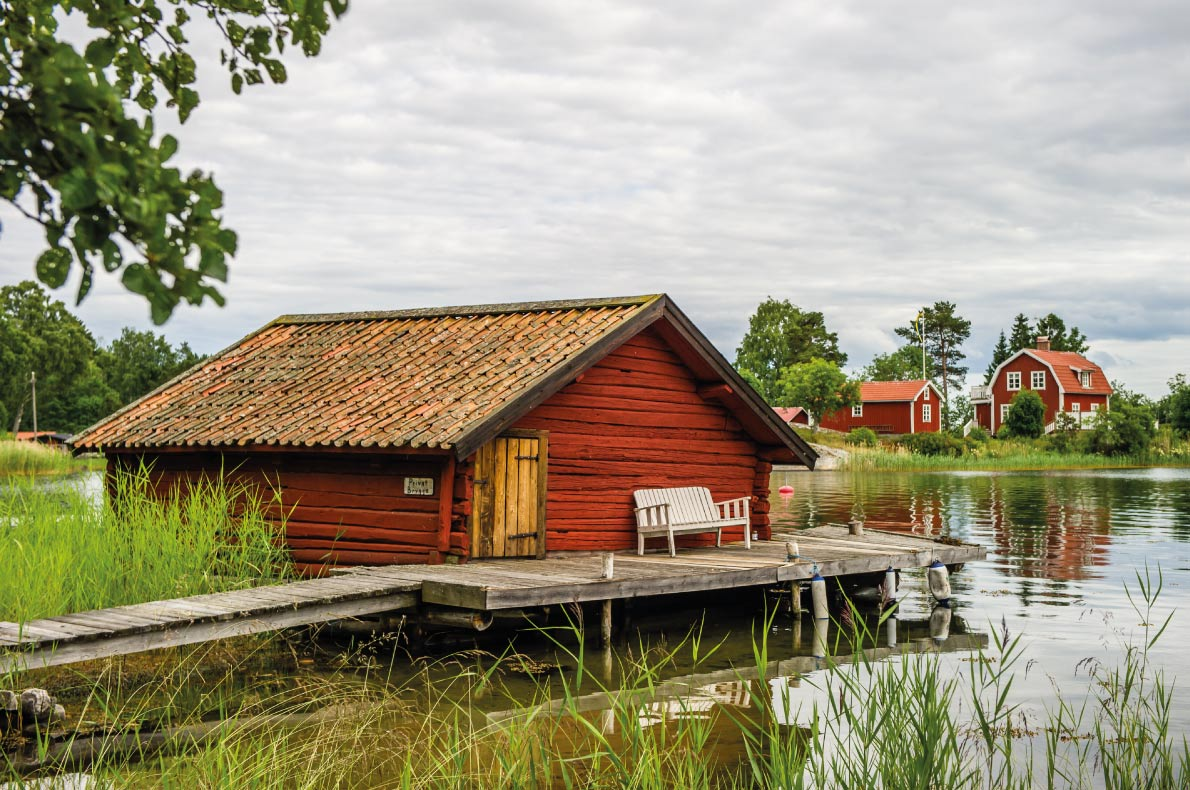 Quietest destinations in Europe -  Stockholm archipelago Copyright  Tobyphoto