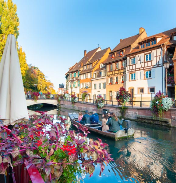 Guided-boat-tours-of-Colmar-things-to-do