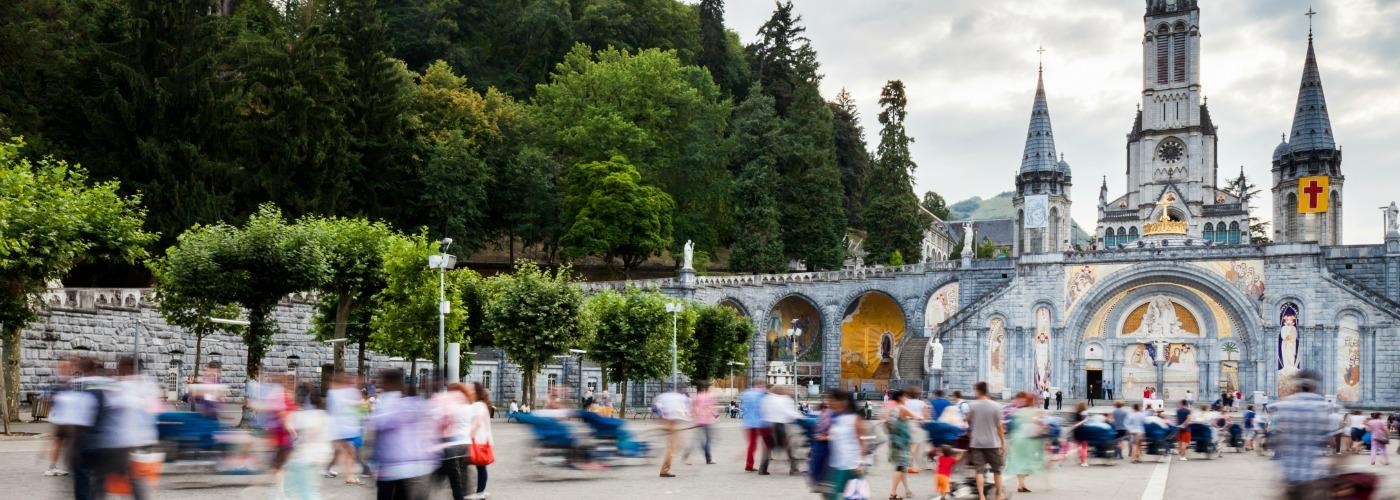 Lourdes tourism in France