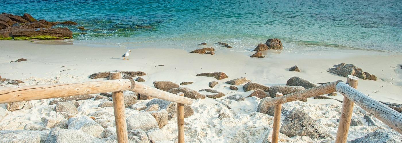 Secret beaches in Europe