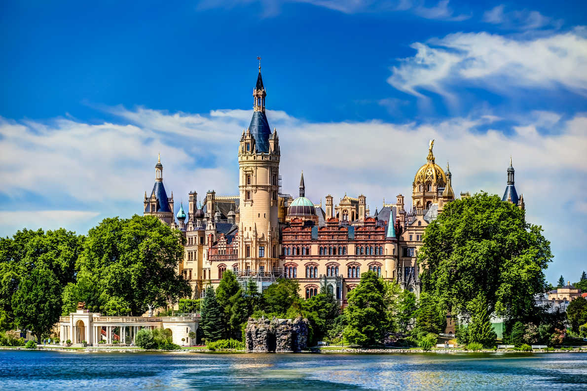 Schwerin Castle - Best destinations for a wedding proposal - Copyright Ian Kennedy - European Best Destinations