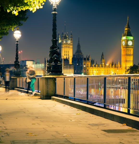 London-romantic-destination-England