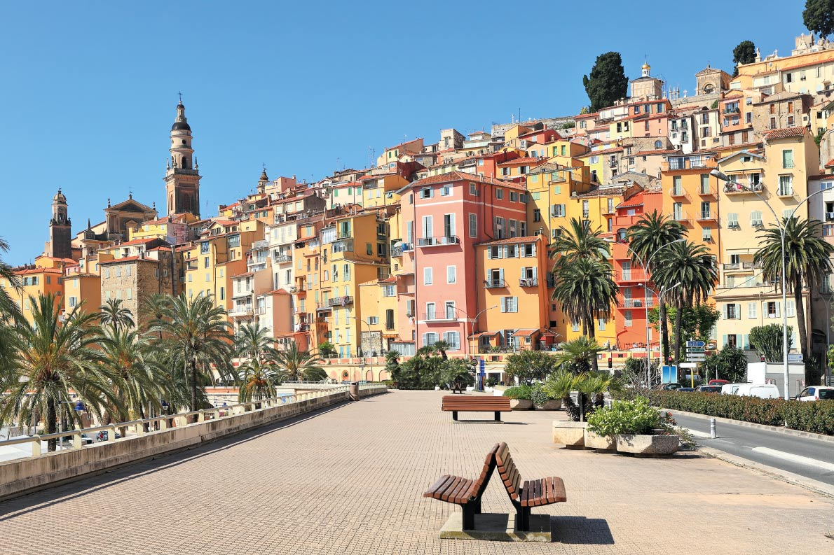 Colorful destinations in Europe  - Menton  - Best colorfull destinations in Europe - Copyright Rostislav Glinsky - European Best Destinations