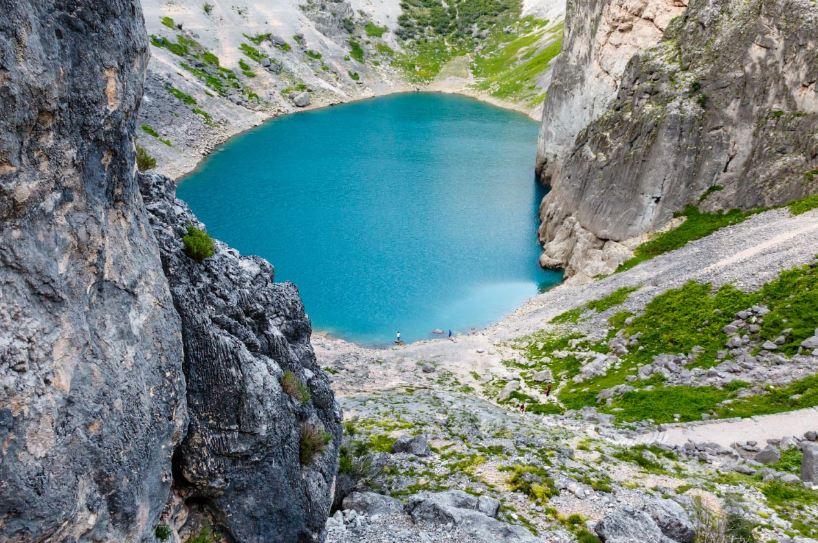 Best natural treasures in Croatia - Imotski Blue Lake  - copyright ansharphoto- European Best Destinations