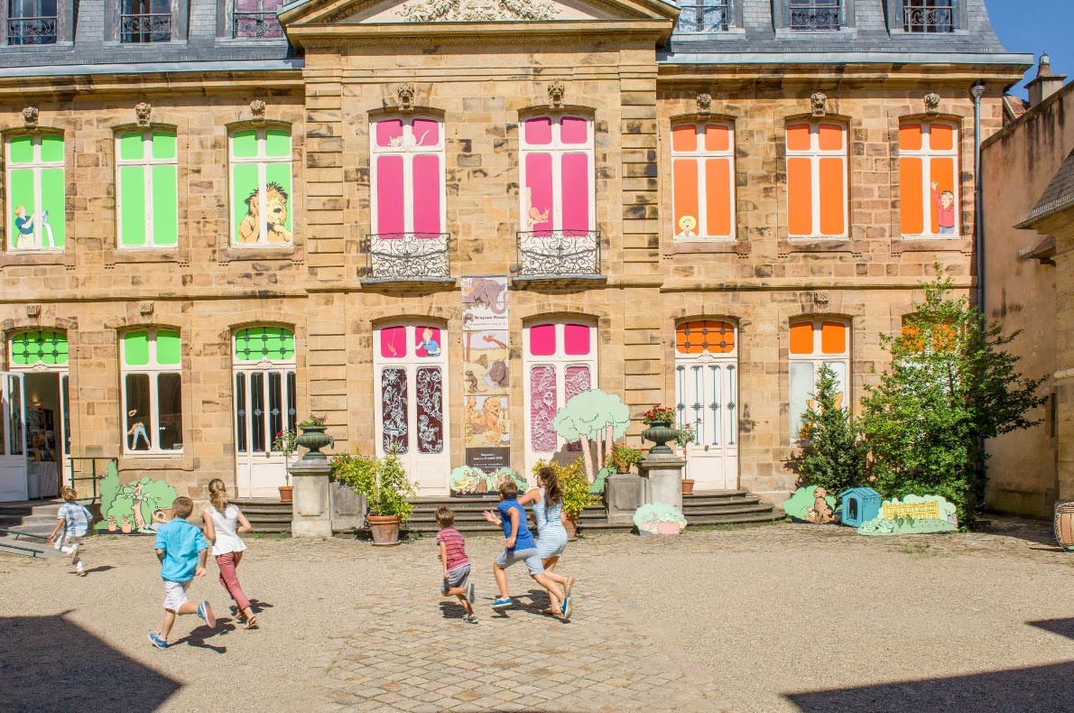 Best sustainable destinations for families in Europe - Moulins- Copyright  @Luc Olivier - European Best Destinations