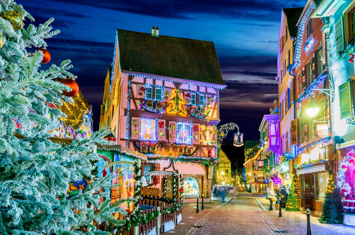 Colmar's Christmas Lights - Best Christmas illuminations in Europe - Copyright cge2010 - European Best Destinations