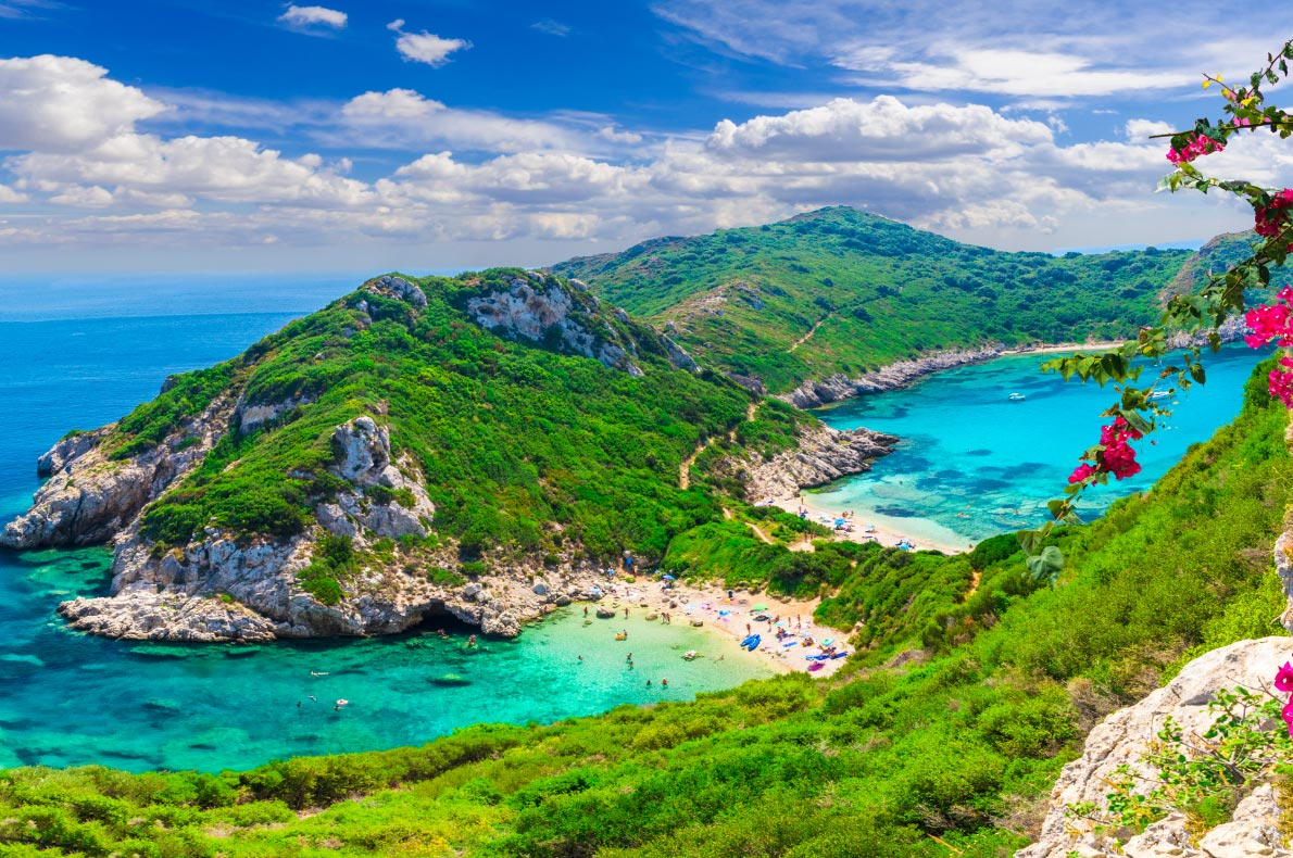 Best beaches in Greece  - Porto Timoni in Corfu copyright  Balate Dorin - European Best Destinations