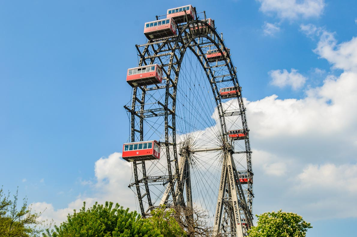Best things to do in Austria - Pratter Ferris Wheel - Copyright Kovacs Photography - European Best Destinations