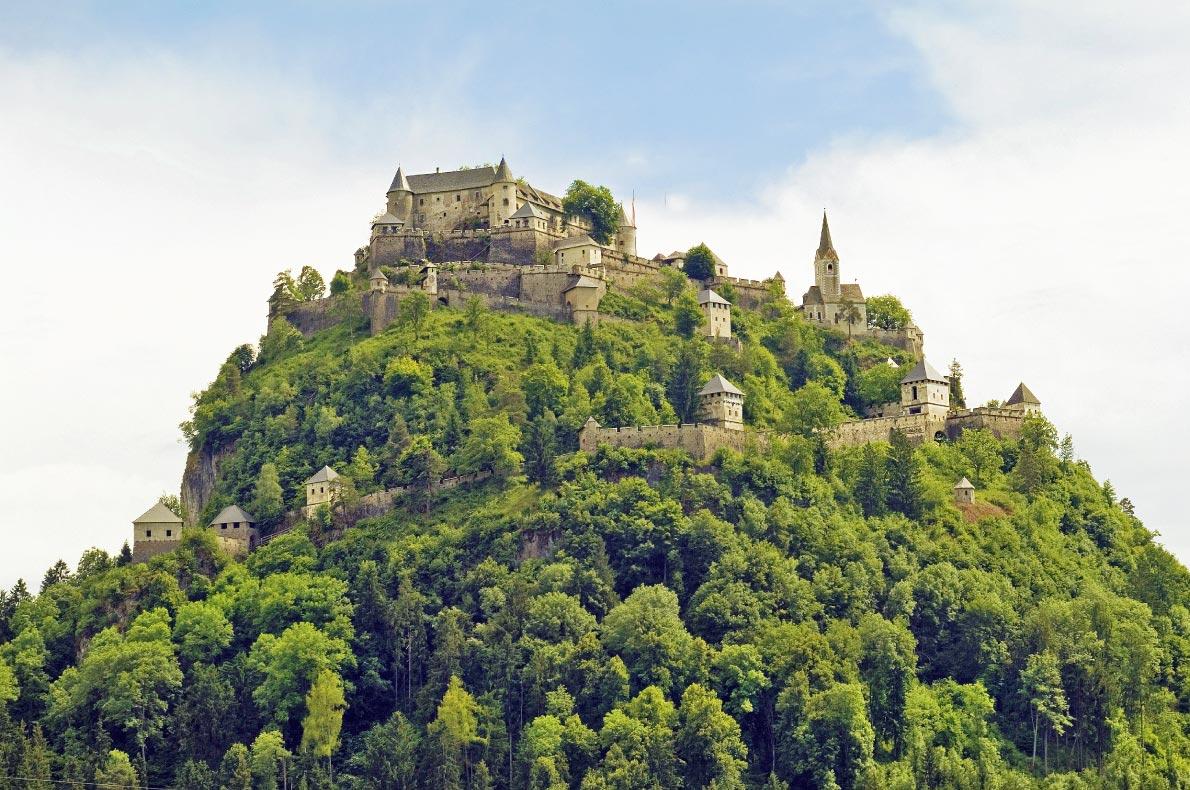 Best places to visit in Austria - Hochosterwitz  - Copyright fritz16 - European Best Destinations