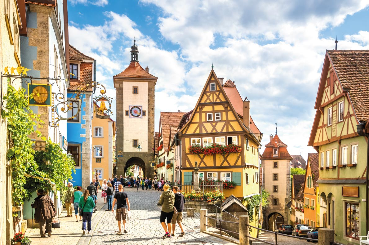 Rothenburg Ob der Tauber - Best medieval destinations in Europe - Copyright LaMiaFotografia - European Best Destinations
