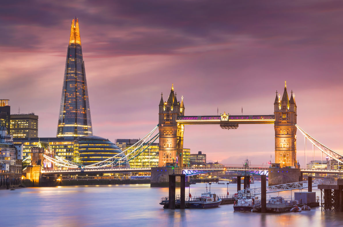 Tallest buildings in Europe - The Shard in London Copyright piotreknik - European Best Destinations