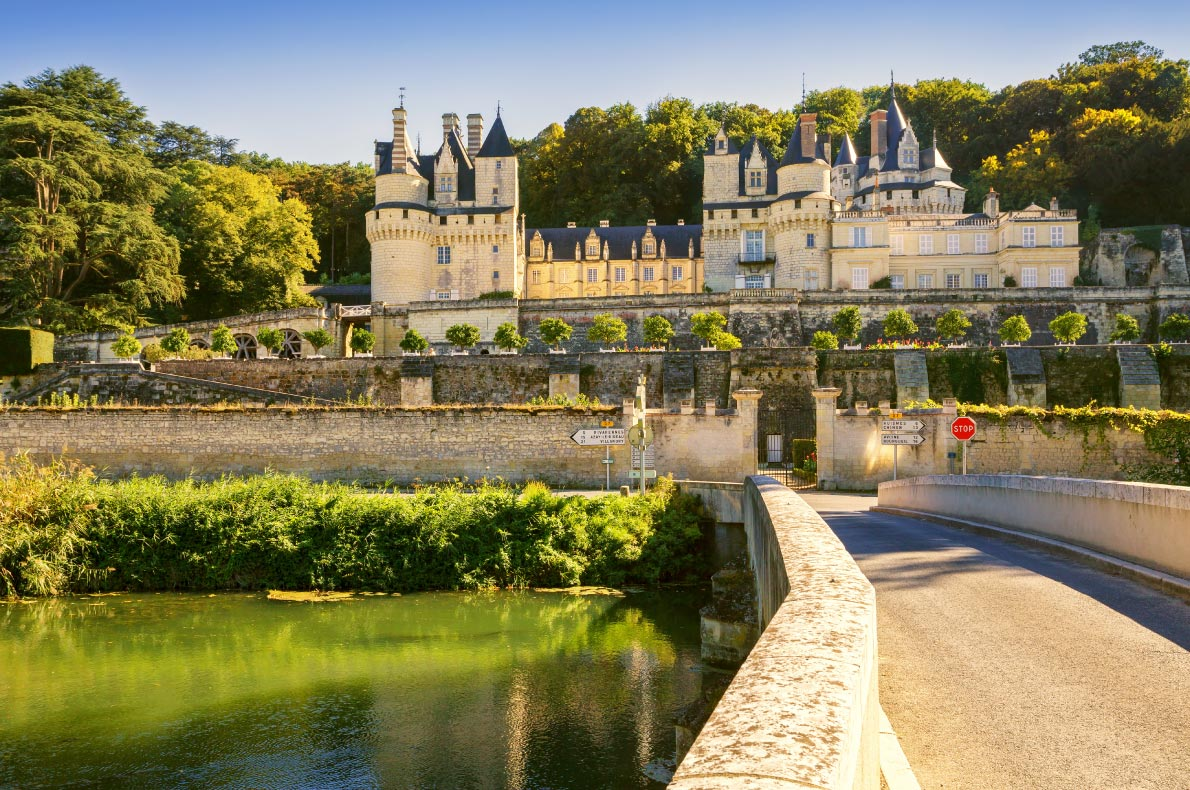 Best Castles in France  -  Castle of Usse Copyright  Vladimir Sazonov - European Best Destinations