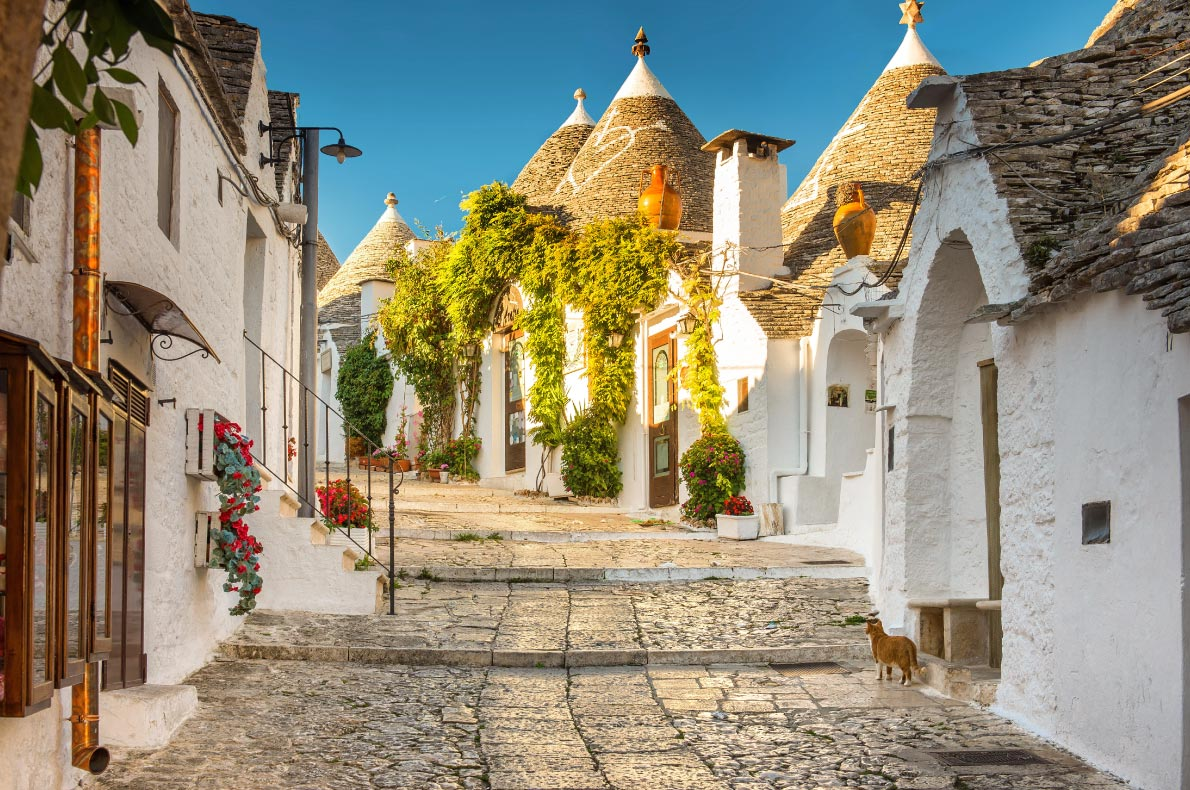 Best hidden gems in Italy - Alberobello, Puglia, Italy - Copyright  thegrimfandango