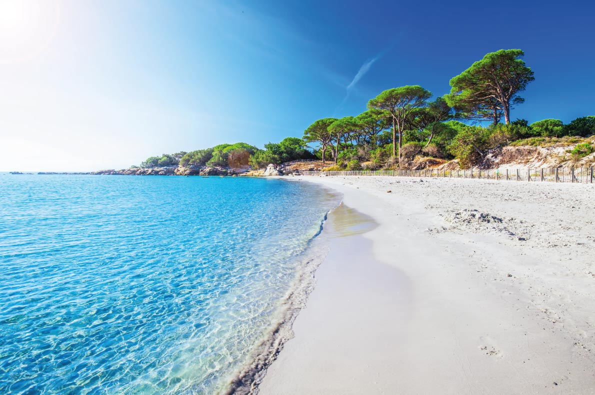 Palombaggia beach corsica  - Best beaches in Europe - Copyright  gevision
