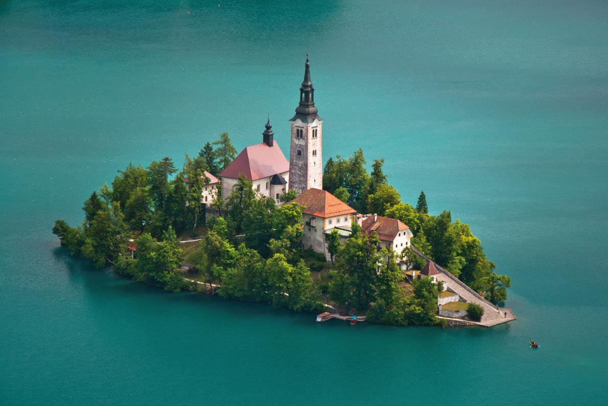 Most beaufitul landscapes in Europe - Bled in Slovenia - Copyright josh - European Best Destinations