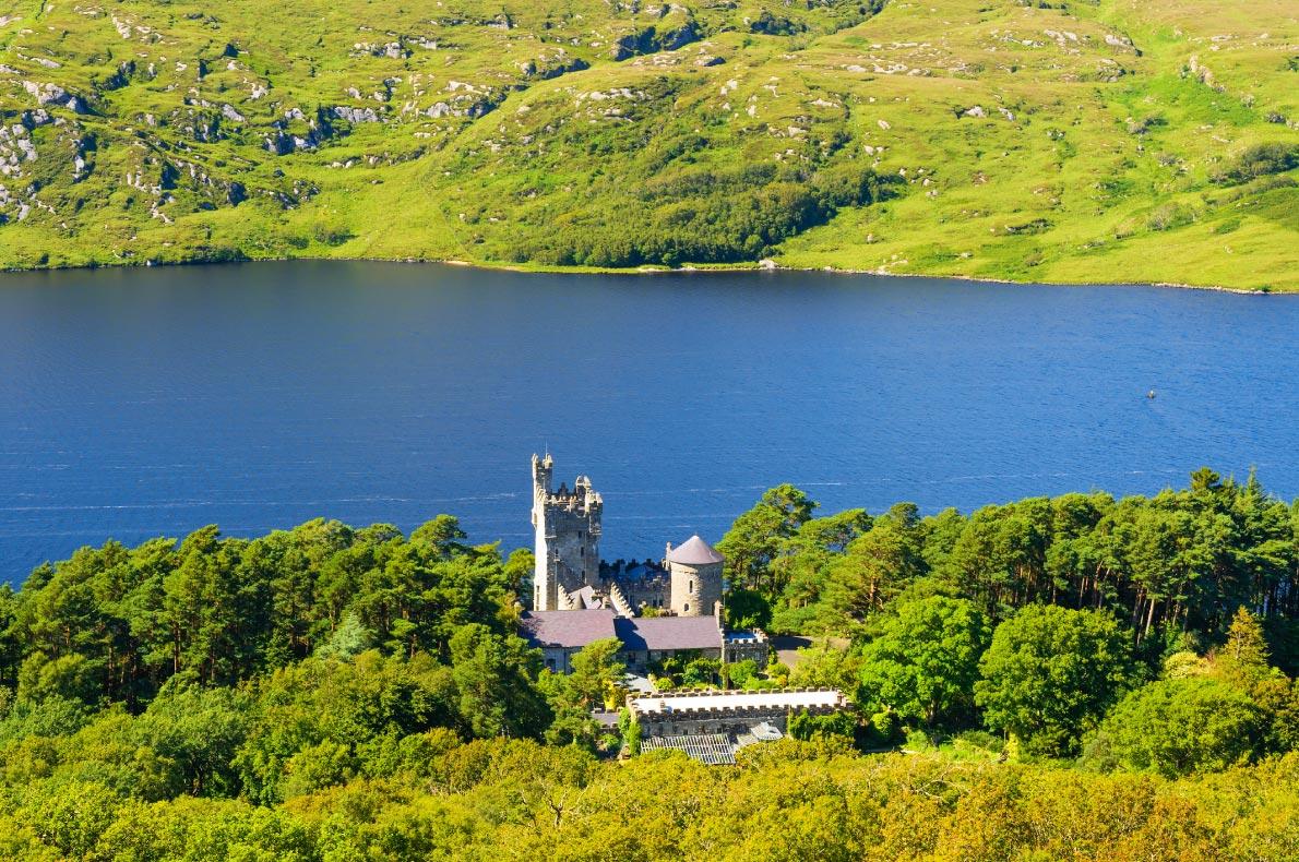 Best castles in Ireland - Glenveagh castle copyright alexilena - European Best Destinations