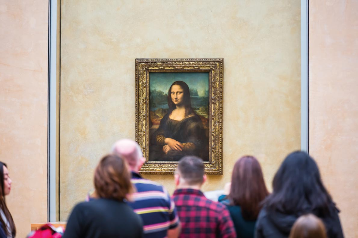 Unmissable paintings in Europe - Mona Lisa - Leonardo da Vinci