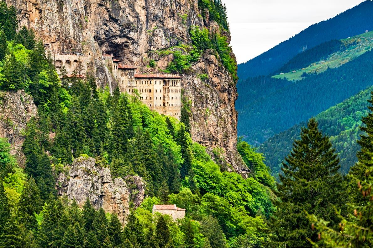 Best hidden gems in Turkey - Sumela Monastery - Copyright Leonid Andronov - European Best Destinations
