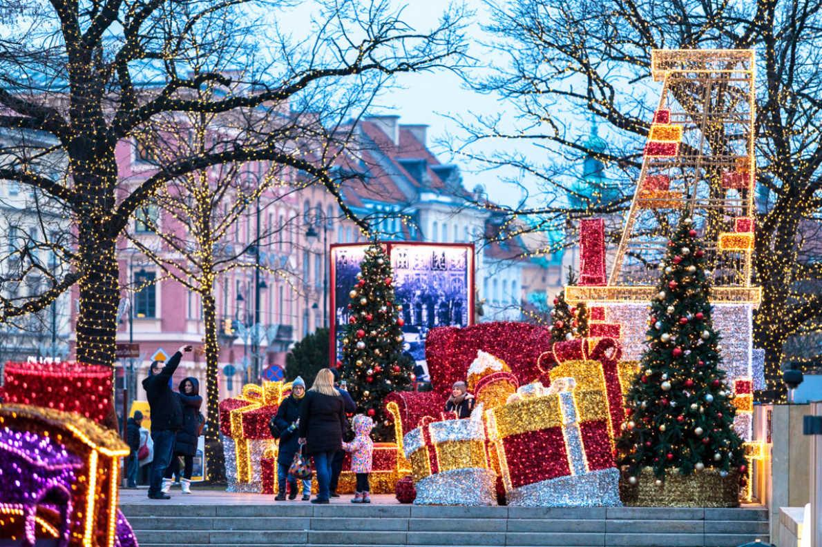 Best Christmas Markets in Poland - Warsaw Christmas Market - Copyright City of Warsaw - European Best Destinations
