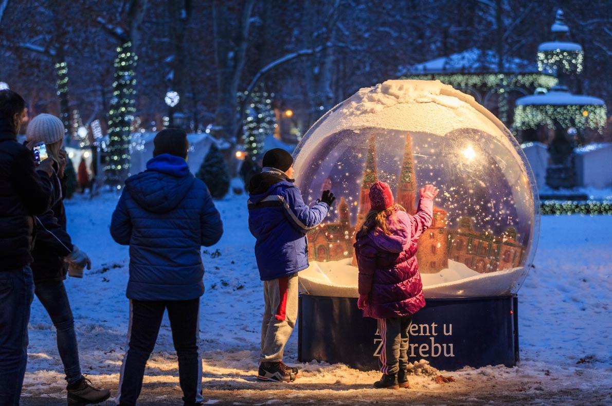 Covid 19 Cele mai sigure piețe de Crăciun din Europa - Piața de Crăciun din Zagreb Copyright Stjepan-Tafra - Cele mai bune destinații europene