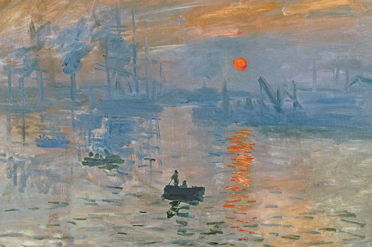 Unmissable paintings in Europe - Impression, Soleil Levant, Monet