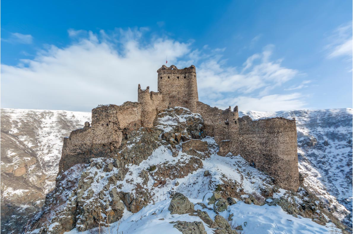 Best Castles in Turkey - Kars Devil Castle - copyright Cem OZER - European Best Destinations