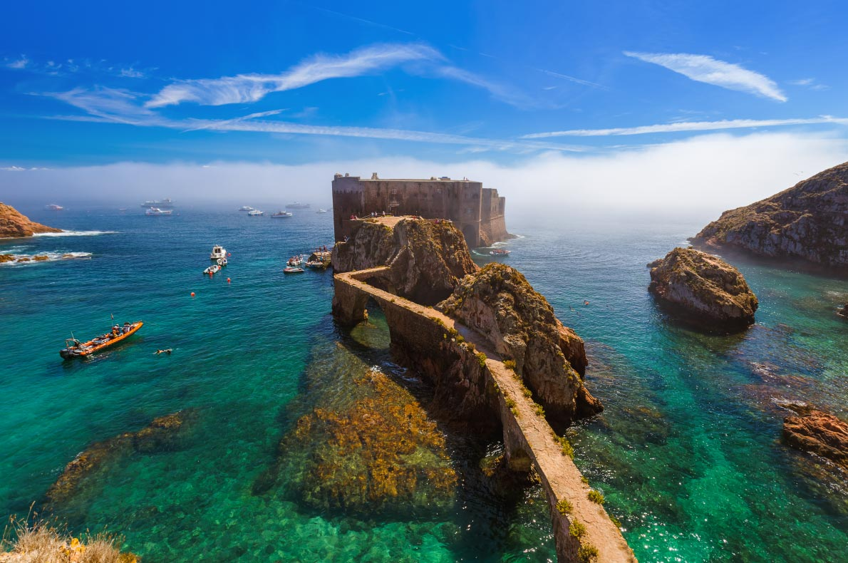 Best hidden gems in Portugal - Berlenga Island Copyright  Tatiana Popova - European Best Destinations