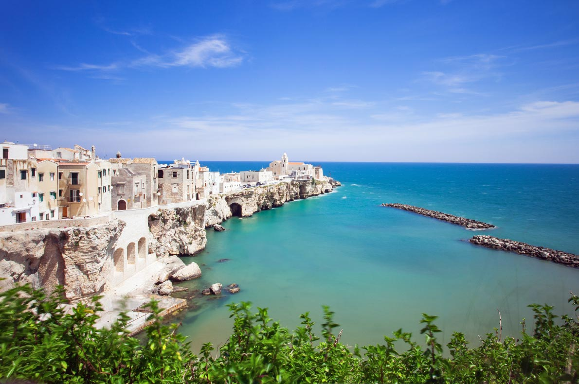 Best hidden gems in Italy - Vieste in Puglia copyright  Kite_rin - European Best Destinations