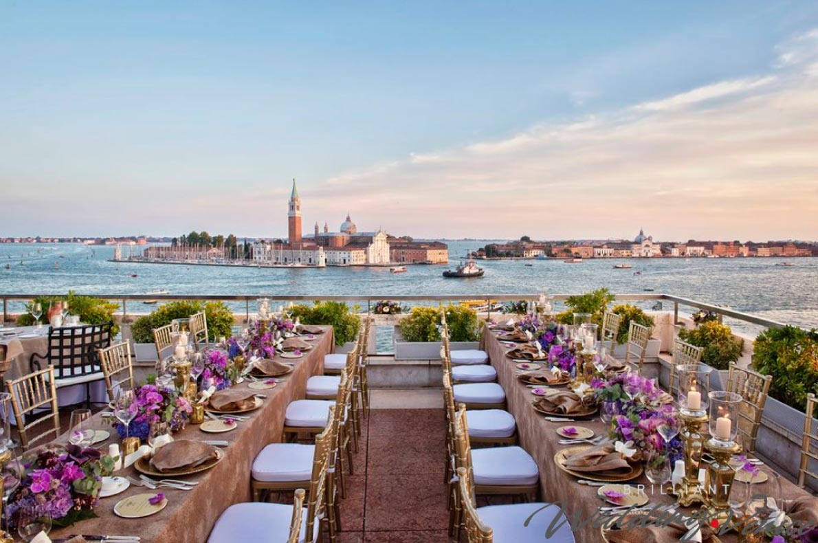 Best wedding venues in Europe - Terrazza Danieli Venice Copyright Wedding-Venice - European Best Destinations