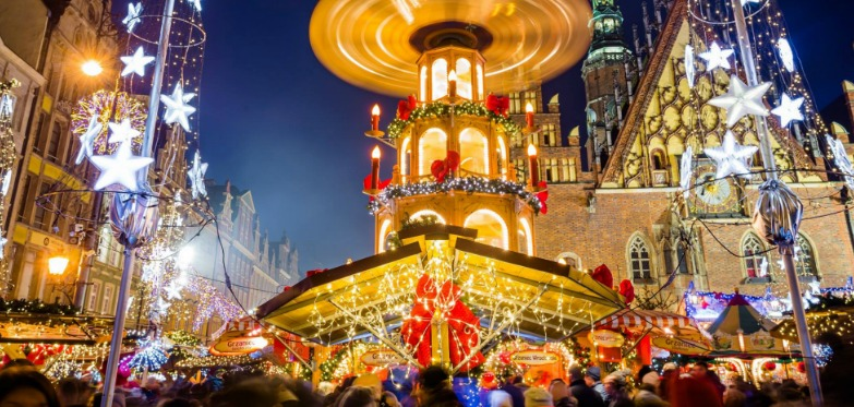 Christmas time in Wroclaw