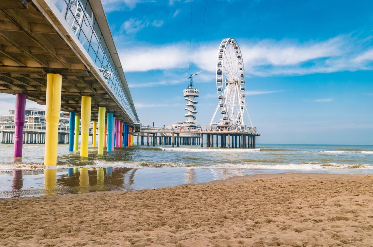 Best beaches in The Netherlands - Scheveningen beach - Copyright fokke baarssent - European Best Destinations