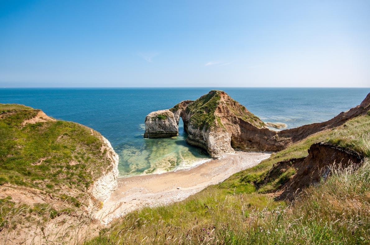 Best natural wonders in England -Flamborough head in Yorkshire copyright  MaybeImaLeo    - European Best Destinations